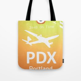 PDX Portland airport Tote Bag