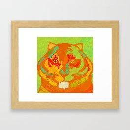 Gran Tiger Framed Art Print