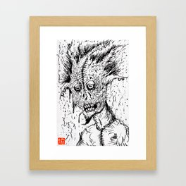 K.C.'s Demon Framed Art Print