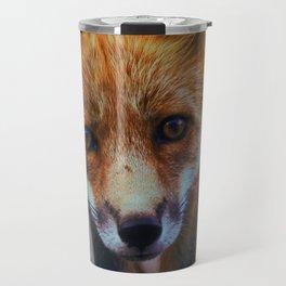 Cute Fox (Color) Travel Mug
