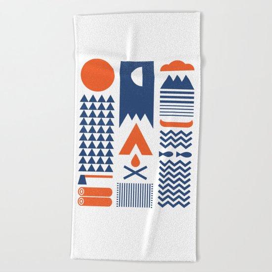Simplify Beach Towel