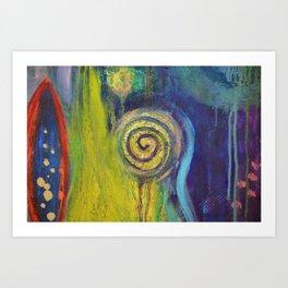 Inner Garden 2 Art Print