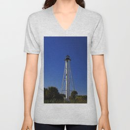 Rear Ranger Lighthouse III Unisex V-Neck