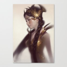 Braids Canvas Print