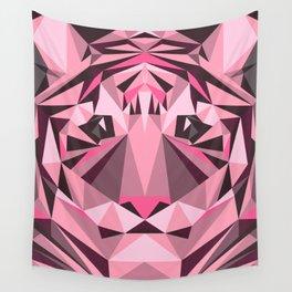 Geometric Tiger Wall Tapestry