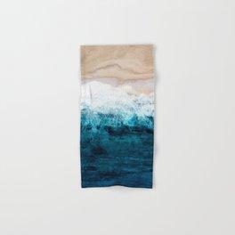 Watercolour Summer beach III Hand & Bath Towel