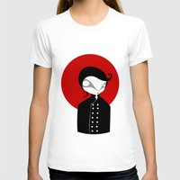 alone T-shirts featuring Alone by Volkan Dalyan