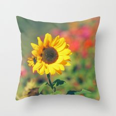 Bursting with Cheer Throw Pillow
