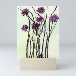Invasive Knapweed Mini Art Print