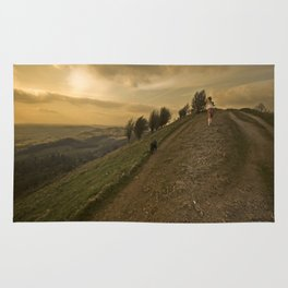 Wuthering hills Rug