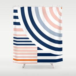 Connecting lines 3. Shower Curtain