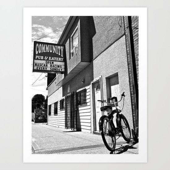 Community Pub Art Print