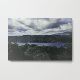 Moody Lake Windermere - Landscape and Nature Photography Metal Print