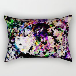 Cold Fire - Abstract Thoughts Collection Rectangular Pillow