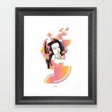 Noir Series 003. Framed Art Print
