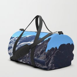 glacier end 3 kaunertal alps tyrol austria europe Duffle Bag