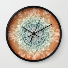 Burning With Desire Wall Clock