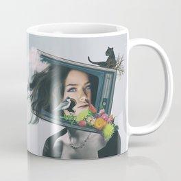 TV woman Coffee Mug