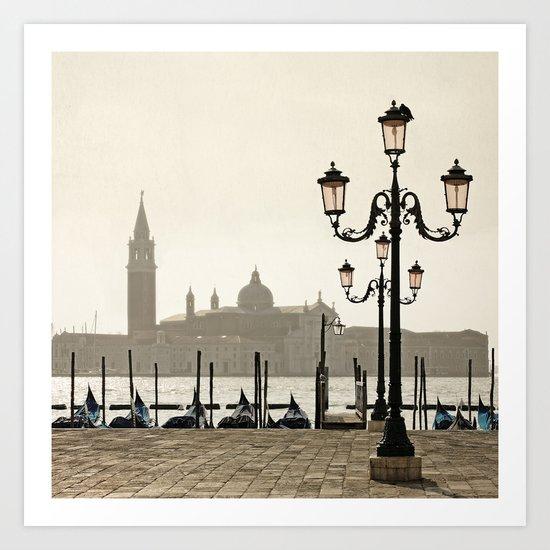 Sunny Morning at San Marco Art Print