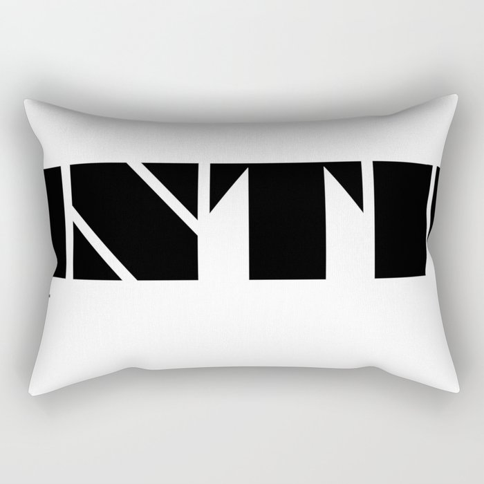 Type Type for INTP Rectangular Pillow
