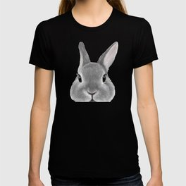 Netherland Dwarf rabbit Grey, illustration original painting print T-shirt