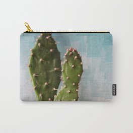 Cactus & art background Carry-All Pouch