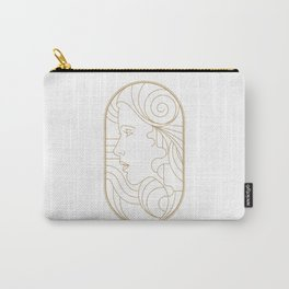 Girl Art Deco 08 Carry-All Pouch