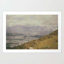 Teleferico Art Print