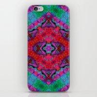 kilim iPhone & iPod Skins featuring Digital Kilim by Jellyfishtimes