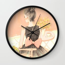 morning Wall Clock