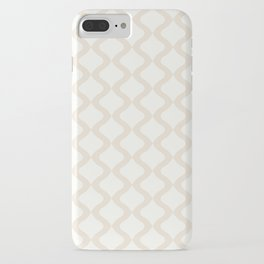 Alva Pattern - Coconut iPhone Case