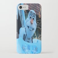 olaf iPhone & iPod Cases featuring Olaf  by MandiMccl