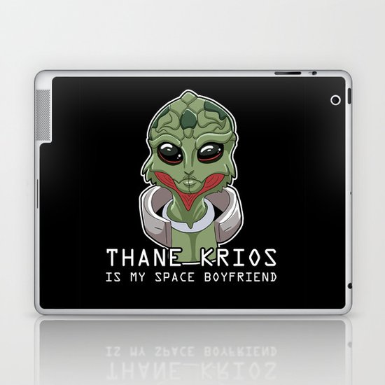 Thane Is My Space Boyfriend Laptop & iPad Skin