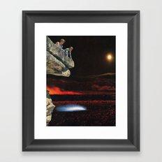 gothic boom Framed Art Print