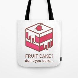 Fruitcake Sweaters Funny Lame Christmas Gift Meme Tote Bag
