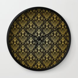 Lace elegant vintage pattern Wall Clock
