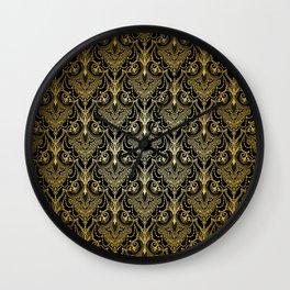 Lace elegant vintage pattern Wall Clock