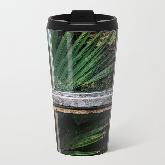 Botanical window Metal Travel Mug