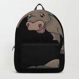 Cow Animal Lover Animal Welfare Gift Backpack