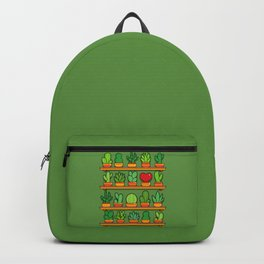 Love Yourself Cactus Heart Backpack