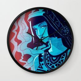 Colorful Indian American Wall Clock