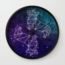 Corgstellation Wall Clock