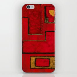 Detached, Abstract Shapes Art iPhone Skin