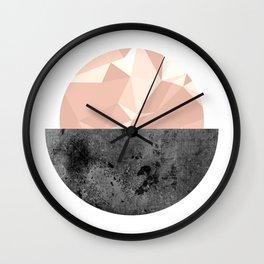 Minimalist Circle  Wall Clock