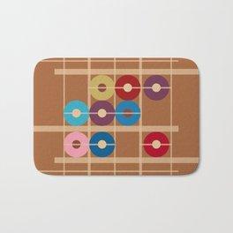 Counting Donuts Bath Mat