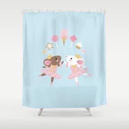 Sugar Plum Fairies Shower Curtain