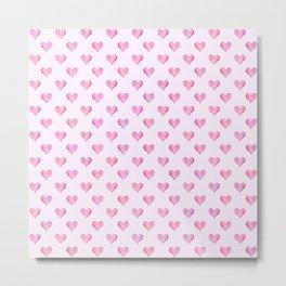 Little Hearts Big Love Metal Print