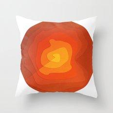 Sand Flower Throw Pillow