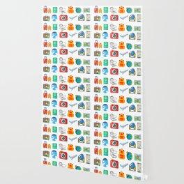 Travel Icons Wallpaper
