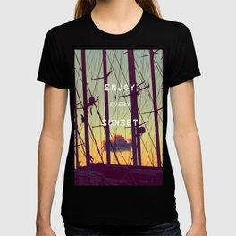 enjoy every sunset T-shirt